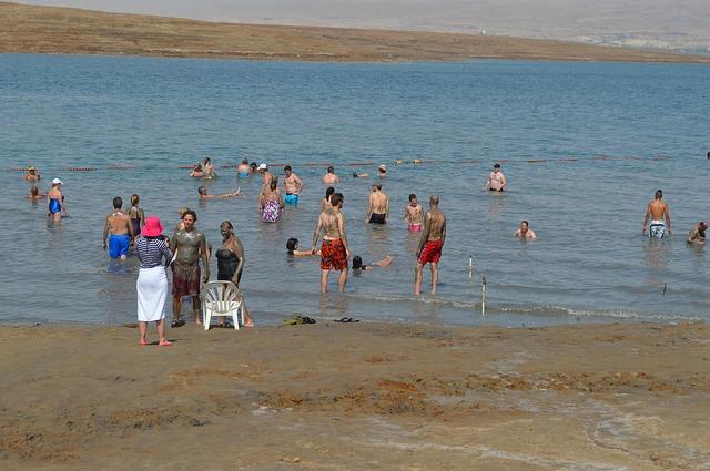 http://pixabay.com/en/dead-sea-sea-mud-israel-salt-sand-380745/