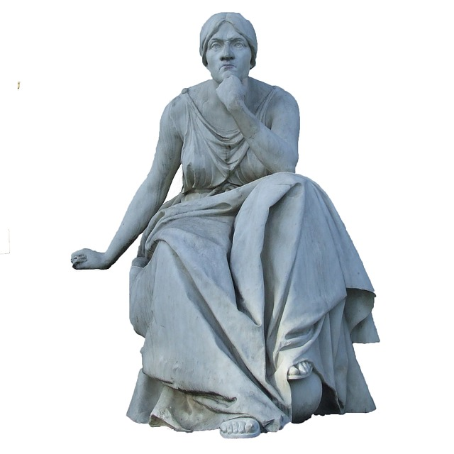 http://pixabay.com/en/stone-figure-wiesbaden-kurpark-muse-190525/