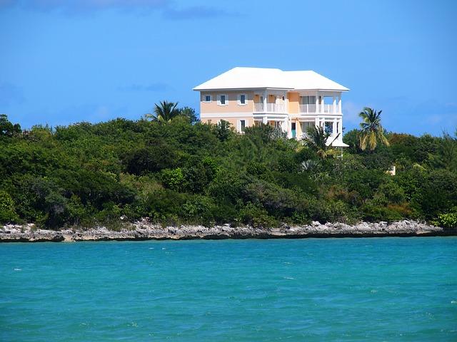 http://pixabay.com/en/bahamas-house-coast-sea-vacation-707305/