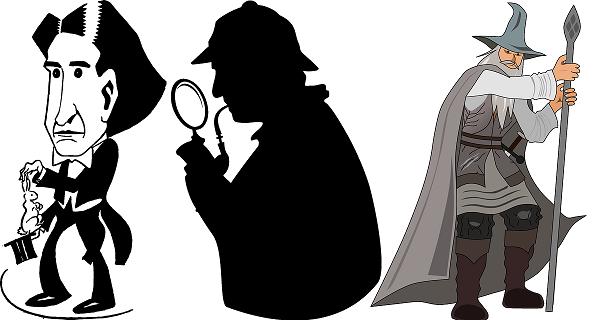 http://pixabay.com/en/magician-circus-caricature-howard-40112/